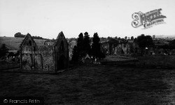Easby, Abbey c.1960