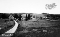 Easby, Abbey c.1965