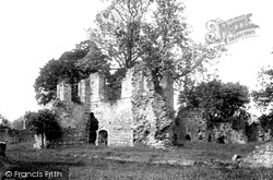 Easby, Abbey, Chapel Ruins 1893
