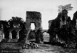 Easby, Abbey, Chapter House 1898