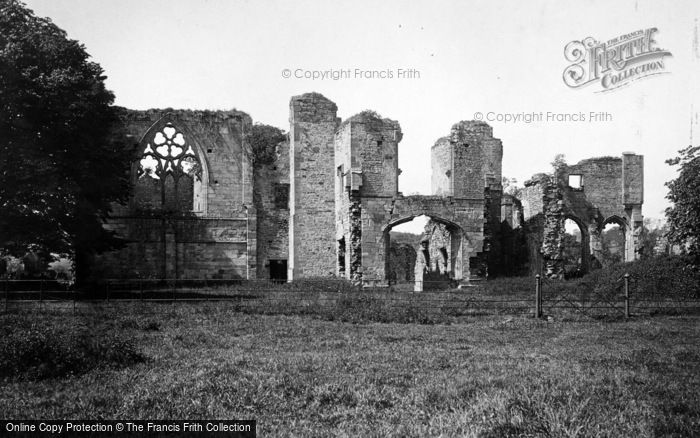Photo of Easby, Abbey, East 1893