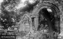 Easby, Abbey, Norman Arch 1893