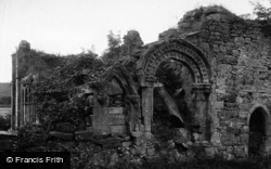 Easby, Abbey, Norman Arch 1913