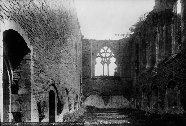 Photo of Easby, Abbey, Refectory 1893