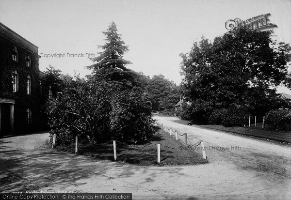 Photo of Easby, House And Village 1892