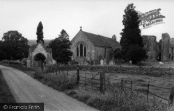Easby, St Agatha's Church c.1960
