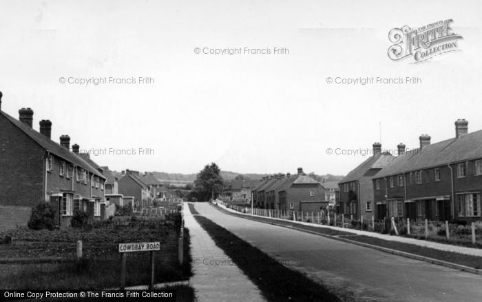 Photo of Easebourne, Cowdray Road c.1955