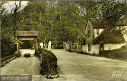 Easebourne, Entrance To Cowdray Park 1931