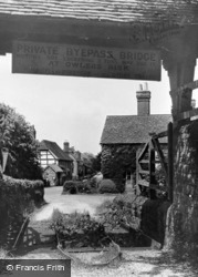 Easebourne, Entrance To Cowdray Park c.1955