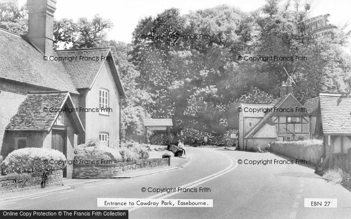Photo of Easebourne, Entrance To Cowdray Park c.1960