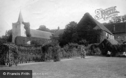 Easebourne, Priory And St Mary's Church 1898