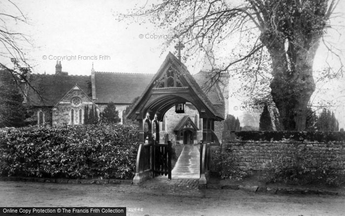 Photo of Easebourne, St Mary's Church And Lychgate 1906