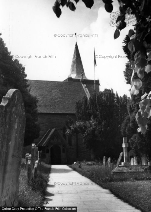 Photo of Easebourne, St Mary's Church c.1955
