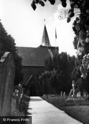 Easebourne, St Mary's Church c.1955