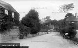 Easebourne, Village, Snow Hill 1906