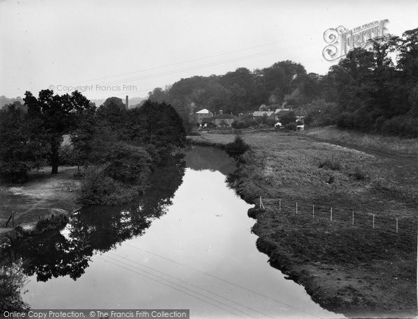 Eashing, view from By-Pass Road Bridge 1935