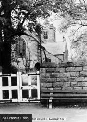 Easington, Church c.1955