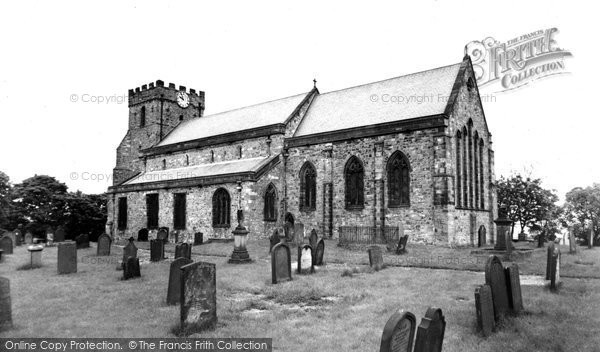 Easington, Church c1960