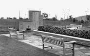 Easington Colliery, Memorial Gardens c1960