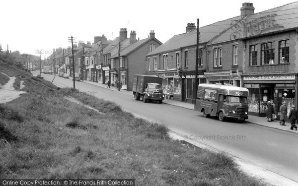 Easington Colliery, Seaside Lane 1961