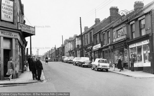 Easington Colliery, Seaside Lane c1960