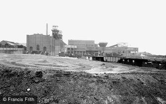 Easington Colliery, the Colliery c1960