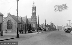 Easington Lane, The Memorial c.1955