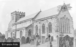 Easington, Parish Church c.1955
