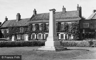 Easingwold, the War Memorial c1960