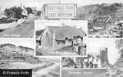 Composite c.1955, East Aberthaw