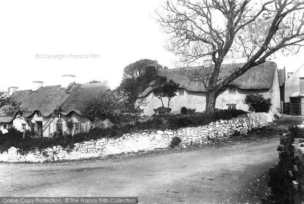 Photo of East Aberthaw, the Village 1899