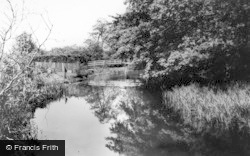East Ayton, The River c.1960