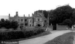 East Barsham, The Manor House c.1965