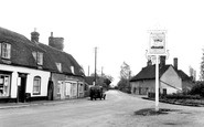 East Bergholt, Burnt Oak c1955