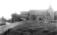 East Blatchington, Church 1891