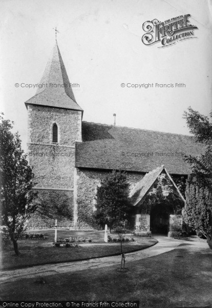 Photo of East Blatchington, St Peter's Church 1897