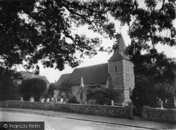 East Blatchington, St Peter's Church c.1950