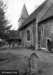 East Blatchington, St Peter's Church c.1965