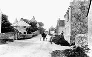 East Blatchington, The Village 1891
