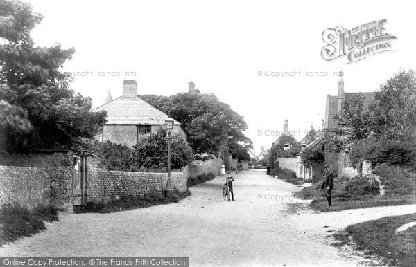 Photo of East Blatchington, The Village 1906