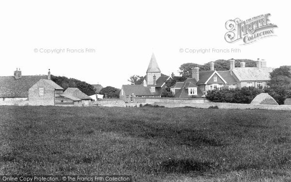 Photo of East Blatchington, The Village 1906