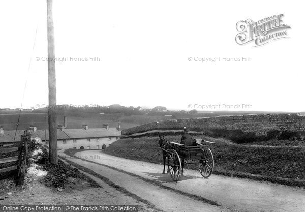 Photo of East Blatchington, Village 1891