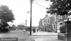 East Boldon, Station Terrace c.1955
