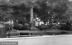 East Boldon, The Memorial c.1955