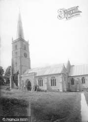 East Brent, Church 1887