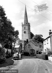 East Brent, Church Of St Mary 1961