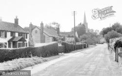 East Brent, Church Street c.1960