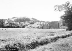 East Brent, Harvest Home Field c.1960