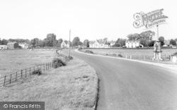East Brent, Main Road c.1960
