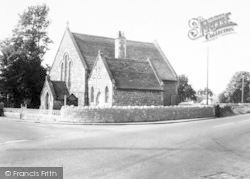 East Brent, Methodist Church c.1960
